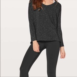 Back in action long sleeve v neck lululemon